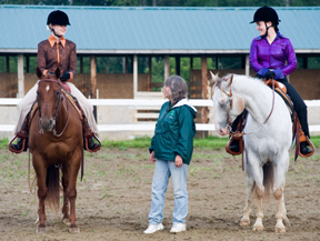 4-Hers and horses; photo by Edwin remsberg, USDA