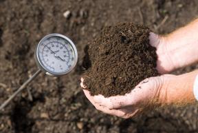 compost; photo by Edwin Remsberg, USDA