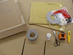 Items needed for indoor shutters.