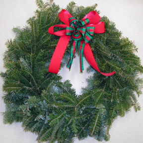 balsam wreath