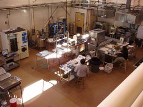 UMaine's Dr. Matthew Highlands Pilot Plant
