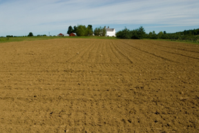 plowed farm field; photo by Edwin Remsberg, USDA