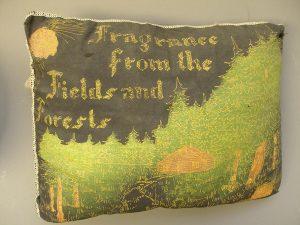 Pillow stuffed with Balsam fir needles