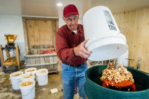 apple producer making cider