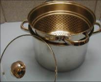 blanching pot