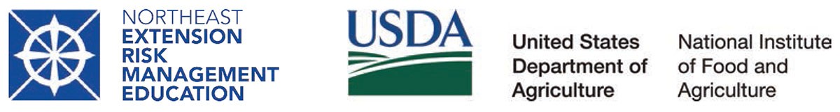 Northeast Extension Risk Management Education and USDA National Institute of Food and Agriculture