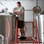 Beer producer in brewery