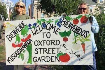 Master Gardener Volunteers at Oxford St Garden