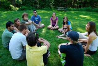 Staff training circle activity