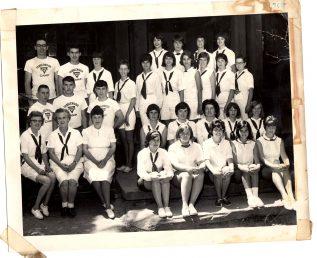 1965 Tanglewood staff photo.