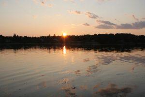 sunset in Tenants Harbor