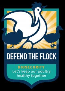 """Defend the Flock"" campaign logo."