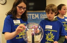 4-H STEM Guides at Washington County Robotics Expo