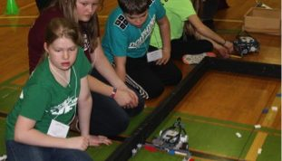 Washington County 4-H Robotics Expo participants
