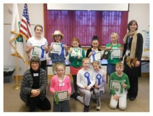 Participants from the Washington County 4-H Public Speaking Tournament.