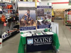 Display at the Tractor Supply Co during the Paper Clover Campaign