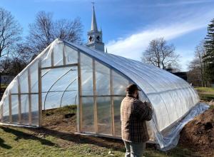 Greenhouse at Washington Academy