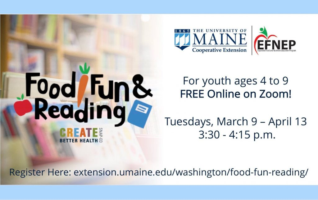 Food, Fun and Reading Information