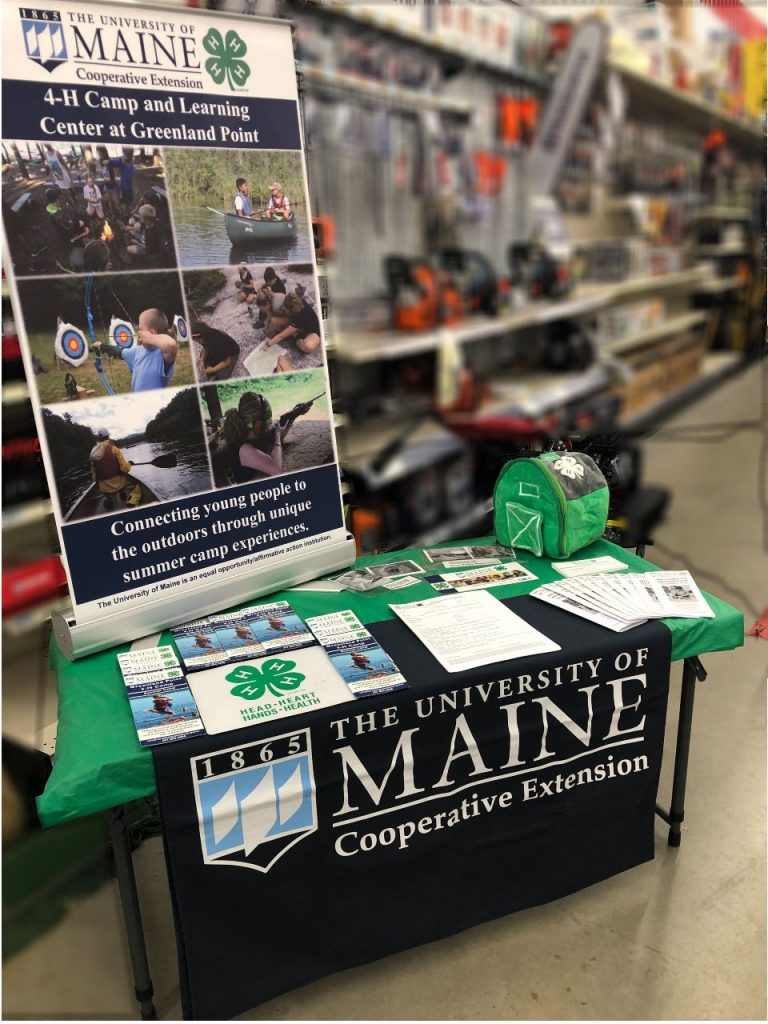 4-H Display at Tractor Supply Co. in Calais