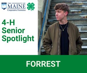 4-H Senior Spotlight, Forrest