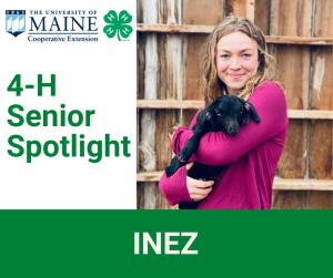 4-H Senior Spotlight, Inez
