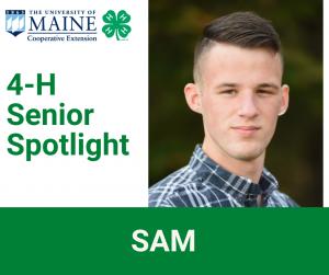 4-H Senior Spotlight, Sam