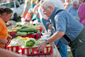 Maine Harvest for Hunger volunteers distribute fresh produce to hungry Mainers