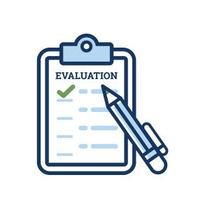 icon for conference evaluation