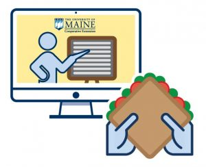 graphic icon for the Lunch and Learn Series with Dean Hannah Carter